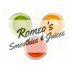 Romeos Smoothies & Juices Logo